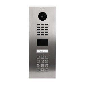 D2101KV IP Video Door Station, Stainless Steel, RFID Reader, Access Keypad